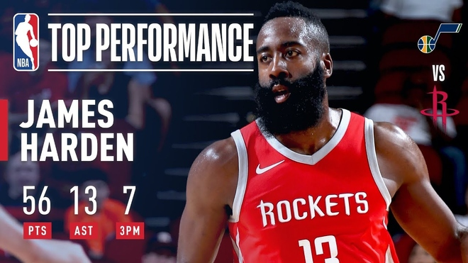 JAMES HARDEN: HOW HE SCORED CAREER-HIGH 56 PTS VS. JAZZ!?
