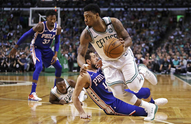 BOSTON CELTICS USE SIZE, STRENGTH AND SPEED ADVANTAGE TO OVERTAKE 76ERS IN GAME 5